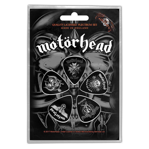 Motörhead Plektrum Set Gitarren Plektren Bad Magic