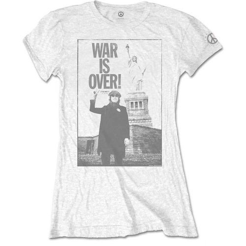 John Lennon Frauen T-Shirt War Is Over