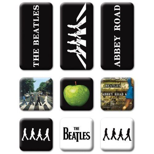 The Beatles Abbey Road Magnet Set 9tlg