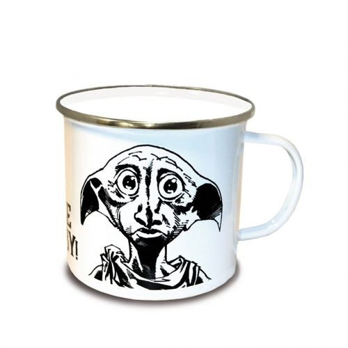 Harry Potter Emaille Becher Tasse Dobby Face