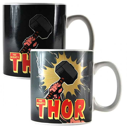 Marvel Comics The Mighty Thor Tasse mit Thermoeffekt