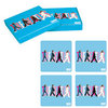 The Beatles Coaster Untersetzer Set 4 tlg Abbey Road blau