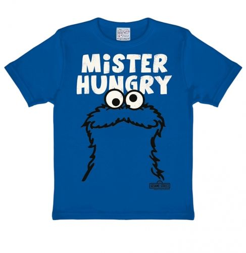 Cookie Monster Kinder T-Shirt Krümelmonster Mister Hungry