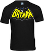 LOGOSH!RT Batman Retro Herren T-Shirt LOGO BAT