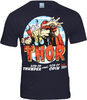 LOGOSH!RT - MARVEL Retro Comic TV Serie Herren T-Shirt - THE MIGHTY THOR - NAVY