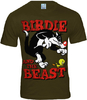 LOGOSH!RT Looney Tunes Herren T-Shirt BIRDIE AND THE BEAST