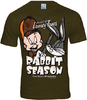 LOGOSH!RT Looney Tunes Retro Herren T-Shirt RABBIT SEASON