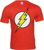 LOGOSH!RT DC Comics Retro Herren T-Shirt FLASH LOGO