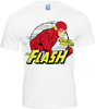 FLASH DC Comic Retro Herren T-Shirt FASTEST MAN ALIVE