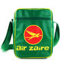 LOGOSHIRT - Retro Airliner Tasche Handtasche AIR ZAIRE - GRÜN - CARBIN BAG SMALL