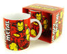 The Invincible Ironman Retro Marvel Comics Tasse