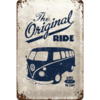 original VW Bulli T1 Blechschild The Original Ride 20x30cm