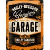 Original Harley Davidson Genuine GARAGE Blechschild 40x30