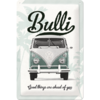 VW BULLI Blechschild GOOD THINGS ARE AHEAD OF YOU 20x30