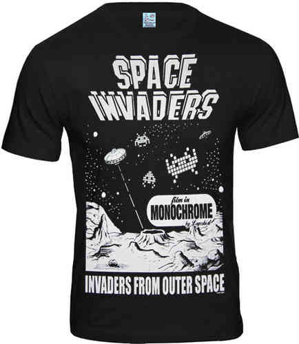 Space Invaders Herren T-Shirt INVADERS FROM OUTER SPACE