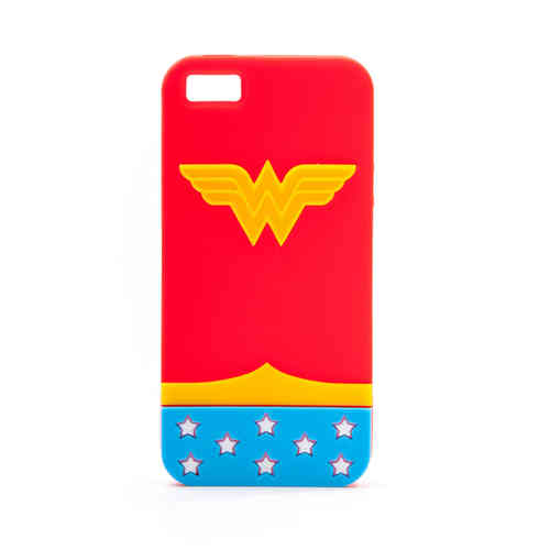 IPHONE 5 Cover Case Schutzhülle Tasche WONDER WOMAN LOGO