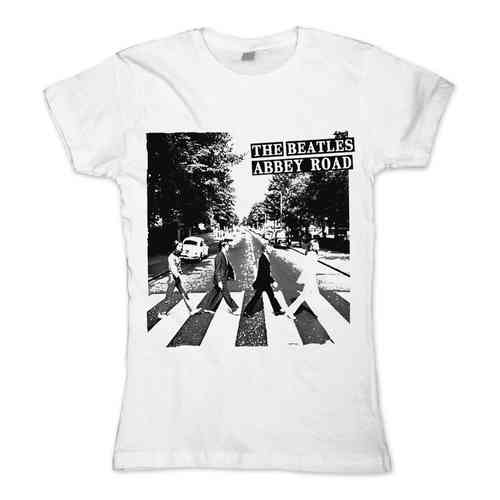 original The Beatles ABBEY ROAD Girl T-Shirt