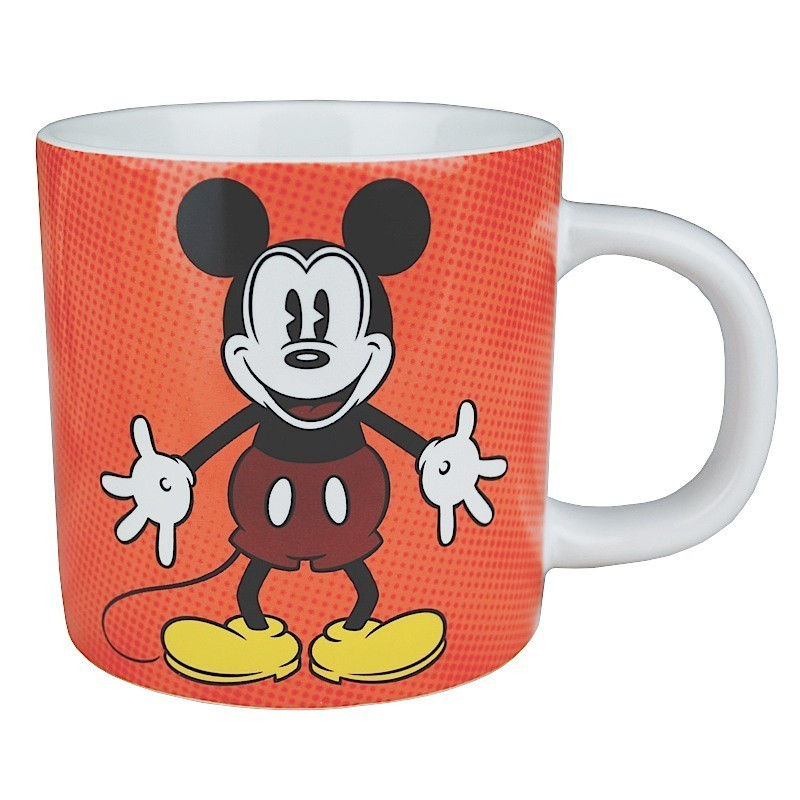 Ongekend Disney Classic MICKEY MOUSE Retro Tasse Kaffeebecher rot kaufen DT-82