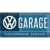 Retro VW GARAGE Blechschild 25x50cm