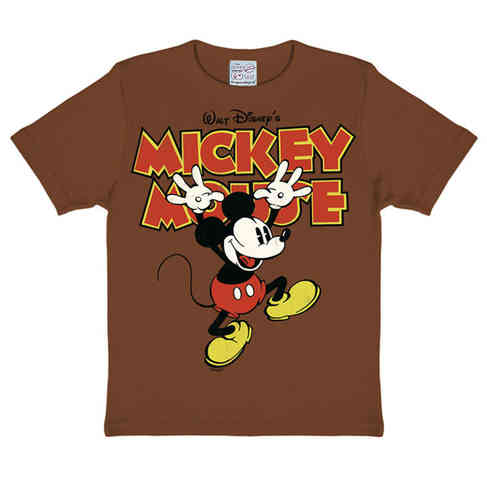 Disney MICKEY MOUSE Mädchen Jungen Kinder T-Shirt HANDS UP