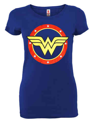 DC Comics WONDER WOMAN Girl T-Shirt CIRCLE