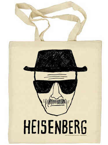 Breaking Bad TV Serie HEISENBERG Stoffbeutel Cotton Bag