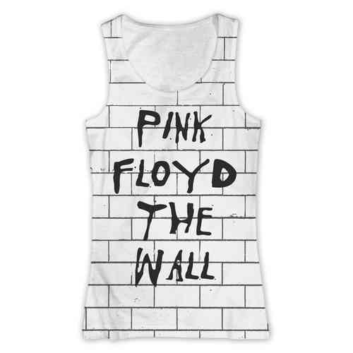 Pink Floyd Girl Shirt Tank Top The Wall