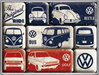 VW Bus Käfer Golf The Original Ride Magnet Set 9 tlg