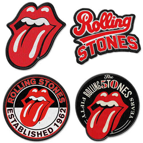 The Rolling Stones Iron-on Patch Aufnäher