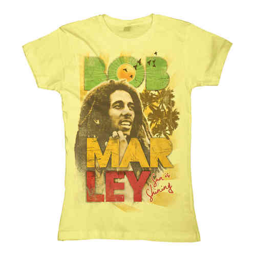 Bob Marley Frauen T-Shirt Sun Is Shining