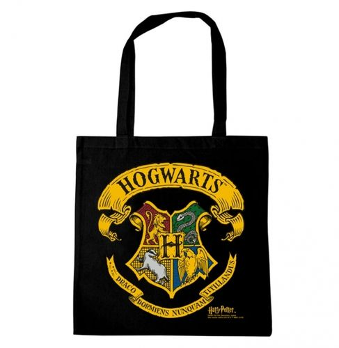Harry Potter Stoffbeutel Cotton Bag Hogwarts Logo
