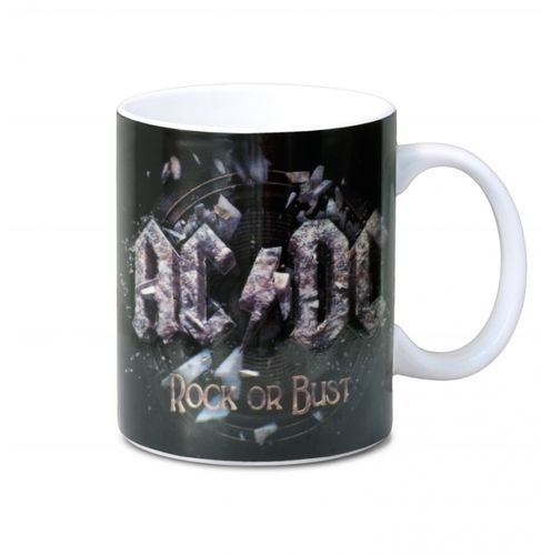 AC/DC Hard Rock Musik Tasse Kaffeetasse Rock Or Bust