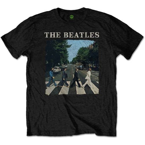 The Beatles Herren T-Shirt Abbey Road & Logo