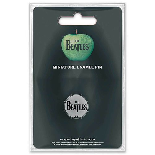 The Beatles Pin Anstecker Drum Head