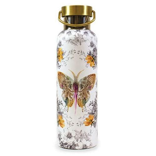Papaya Thermosflasche Trinkflasche Paisley Butterfly