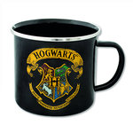 Harry Potter Emaille Becher Tasse Hogwarts Logo