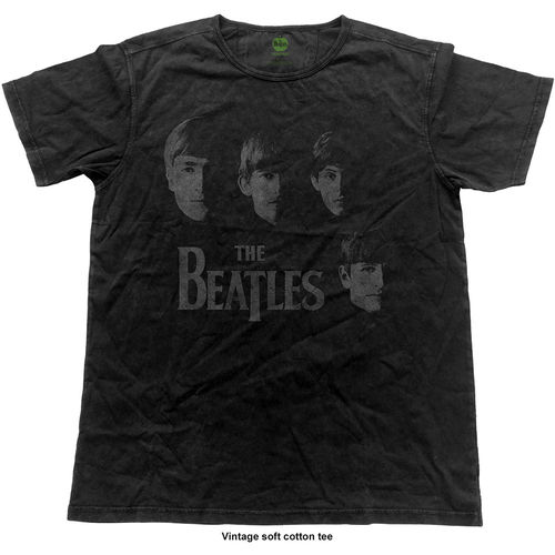 The Beatles Herren Musik T-Shirt Vintage Faces