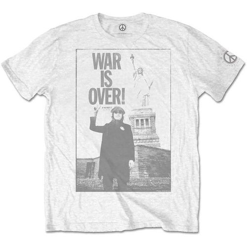 John Lennon Herren T-Shirt War Is Over