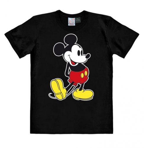 Retro Comic Mickey Mouse Herren T-Shirt Classic