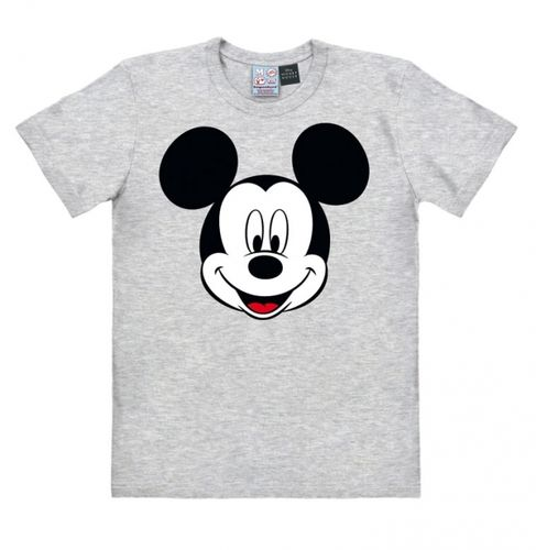 Retro Comic Mickey Mouse Herren T-Shirt Face