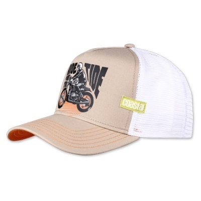 Retro Coastal Cap Trucker Mash Basecap Ride For The Tide