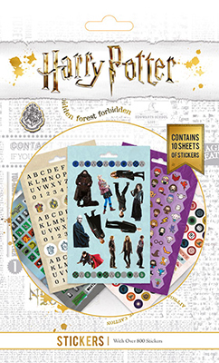 Harry Potter Aufkleber Sticker Set
