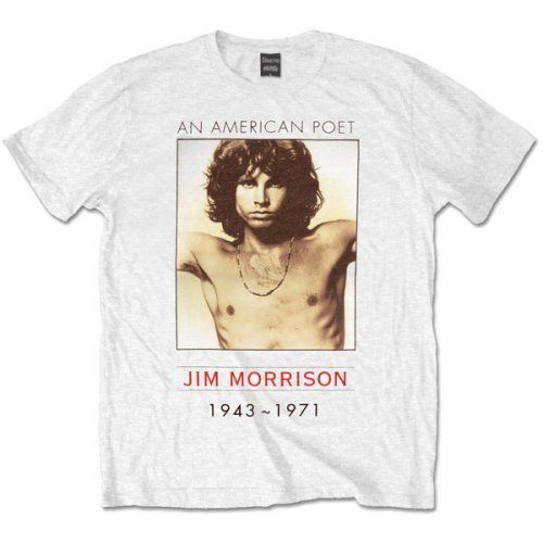 The Doors Musik Herren T-Shirt American Poet