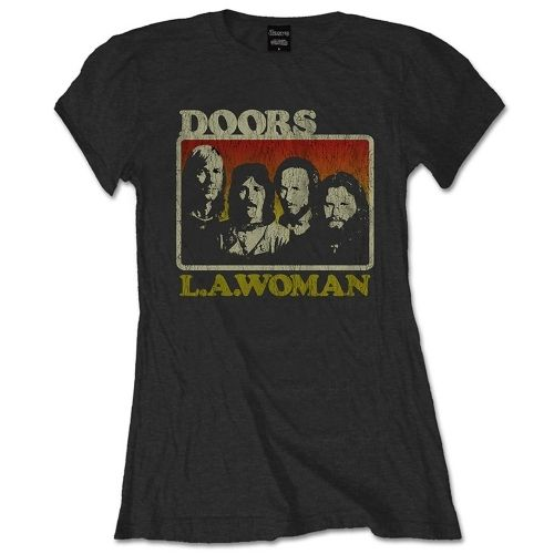 The Doors Musik Frauen T-Shirt La Woman