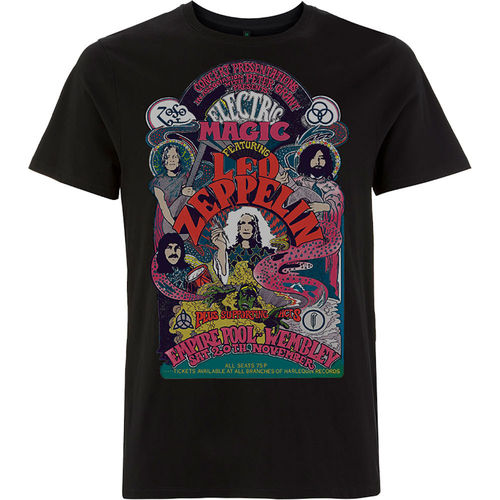 Led Zeppelin Musik Herren T-Shirt Electric Magic