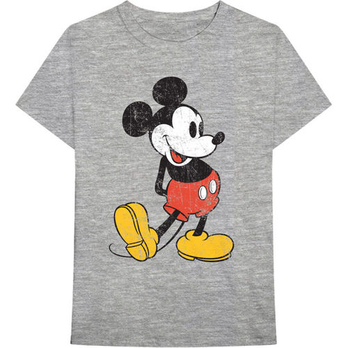 Retro Disney Mickey Mouse Herren T-Shirt Vintage