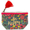 Natural Life Canvas Mini Tasche Be Happy