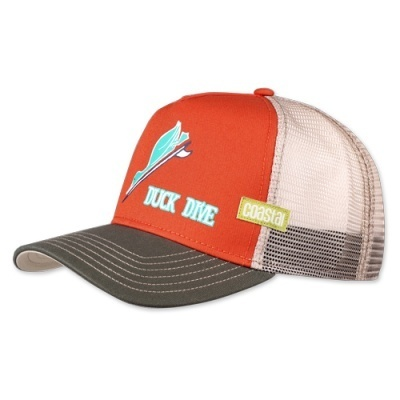 Retro Coastal Cap Trucker Mash Basecap Duck Dive