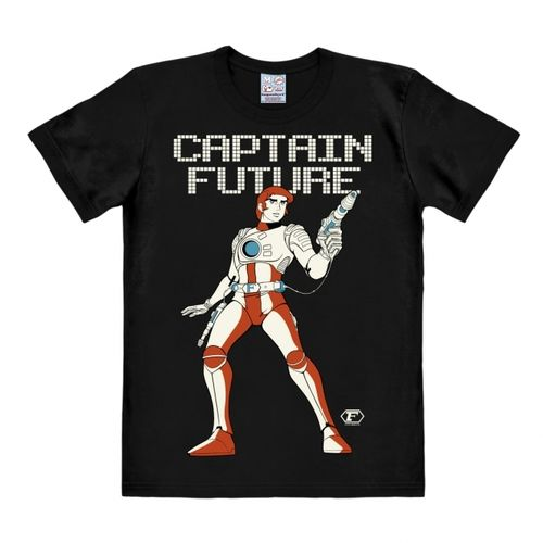 Captain Future Herren Maenner T-Shirt