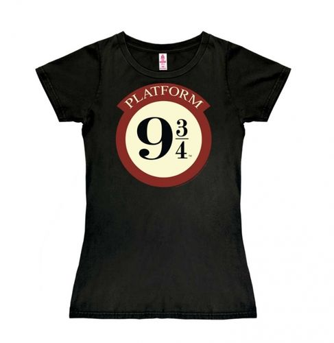 Harry Potter Frauen Girl T-Shirt Gleis 9 3/4 Logo